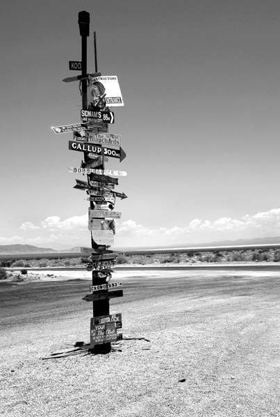 Peter Welch: Desert Intersection